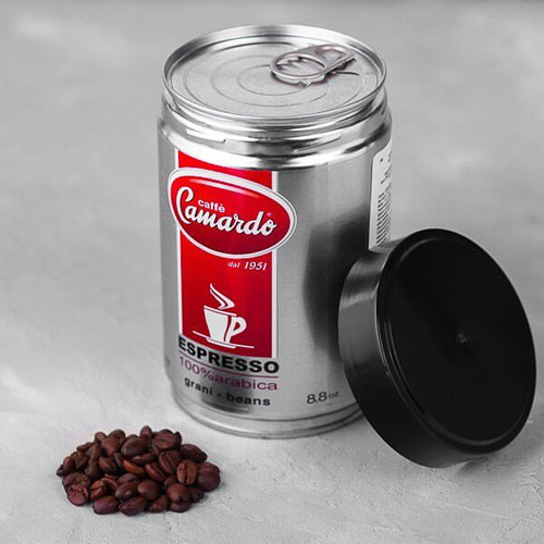 Hạt cafe 100% arabica hi tech 250g (can)