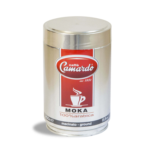 Bột cafe moka hi tech 100% arabica 250g (can)